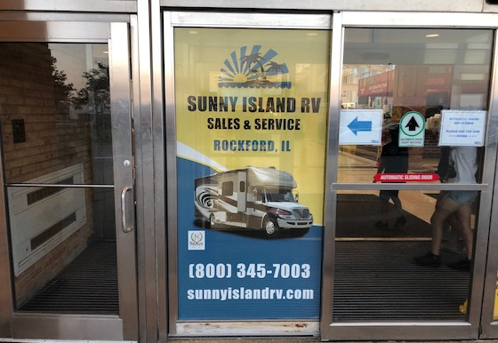 rv door ad