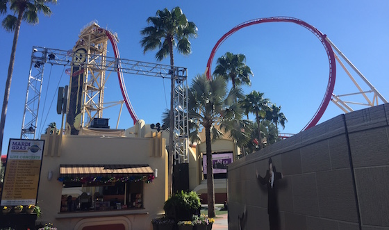 self storage roller coaster