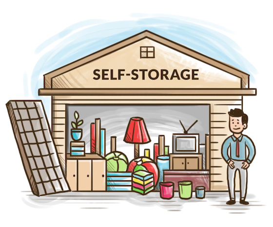 self storage manager