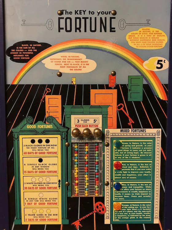 Key to your fortune game