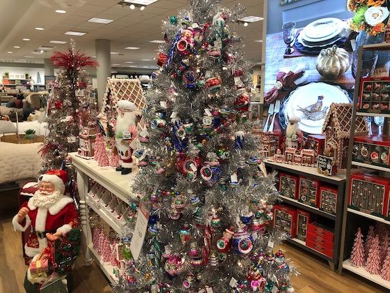 Christmas at mall