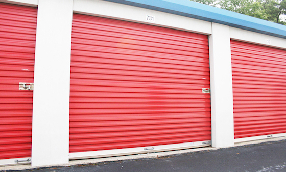 self storage roll up door