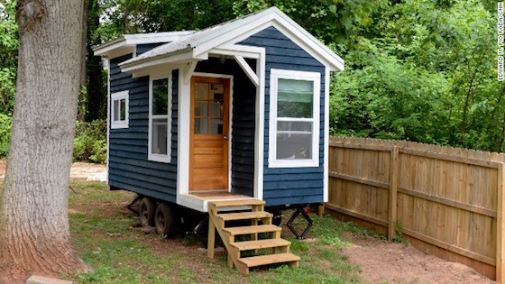 self storage benefits from tiny house