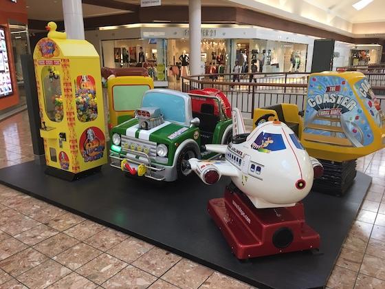 mall rides